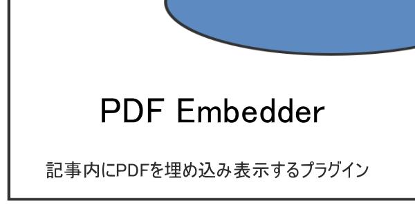 記事内にPDFを埋め込み表示するプラグイン『PDF embedder』の設定と使い方